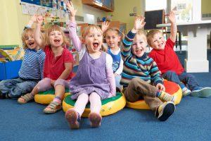 children in early childhood development center